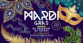 Mardi Gras Facebook Shared Image