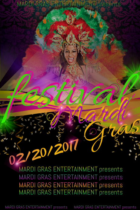 Mardi Gras Fat Tues Vintage Woman Festival Ball Masquerade