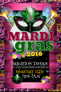 Mardi gras poster templates postermywall mardi gras saigontimesfo