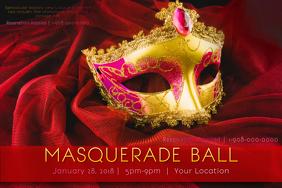 Mardi Gras Masquerade Venetian Mask Fat Tuesday Gold Ball