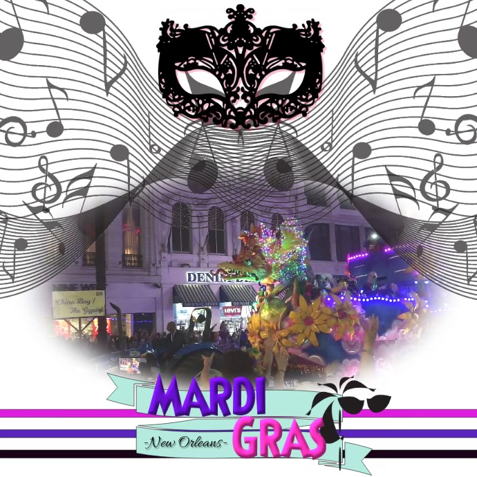 Mardi Gras/New Orleans/ Party/Parade