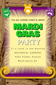 Mardi Gras Party