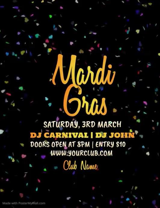 Mardi Gras Party Video, Carnival Video, Masquerade Party