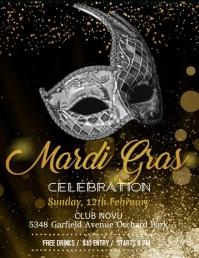 Mardi Gras Party Video, celebration video, carnival festival
