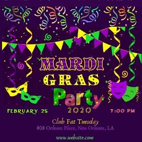 Mardi Gras Party Video