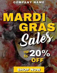 mardi gras sales ad