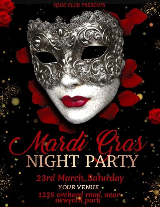 Mardi Gras Video, Carnival, Masquerade