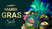 mardigras , event, festival Header ng Blog template