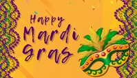 mardigras , event, festival Header Blog template