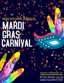 mardigras flyers,event flyers ,party flyers