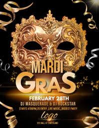 mardigras flyers,Masquerade flyers