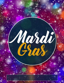 Mardigras templates,event flyer,party flyer