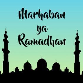 Marhaban ya Ramadhan template