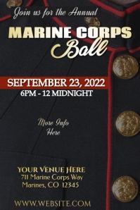 Marine Corps Military Ball Poster