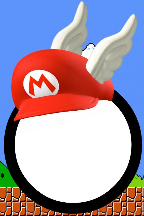 Mario Party Prop Frame