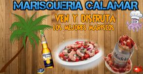 MARISCOS Изображение, которым поделились на Facebook template