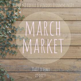 market Publicação no Instagram template