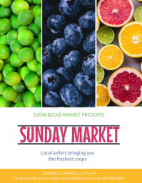 Market Event Flyer template