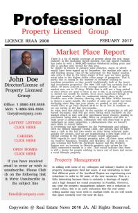 Market Place Report