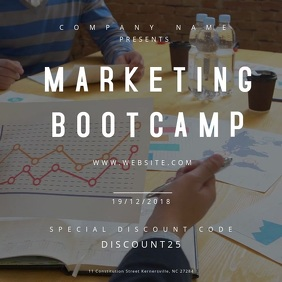 Marketing Bootcamp Motion Poster