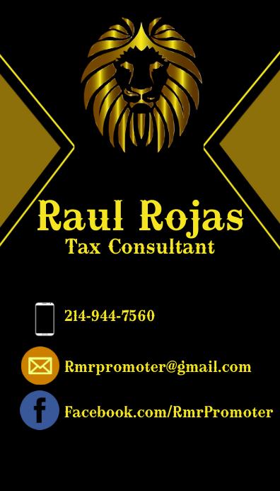 Marketing Business Card Visitkort template