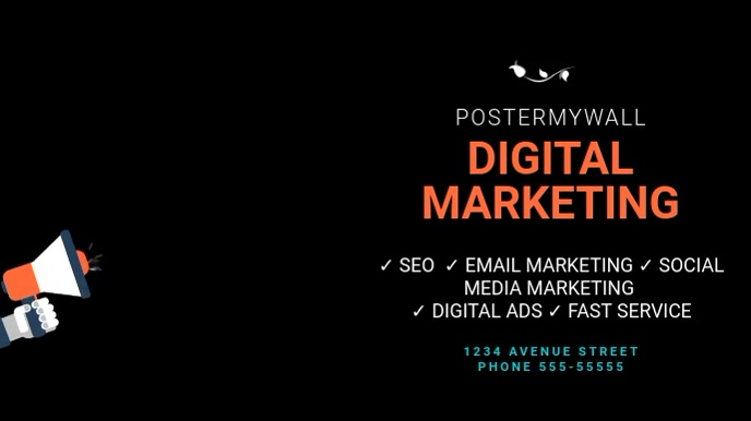 Marketing Business Digital display template