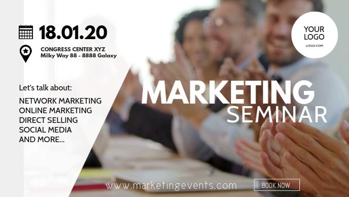 Marketing Congress network sales workshop ad
