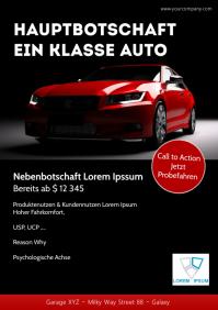 Marketing Flyer Template Copyplattform Advert A4
