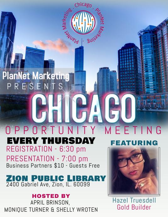 Marketing/Meeting Flyer Template