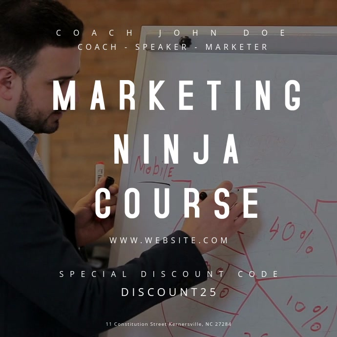 Marketing Ninja Course Motion Poster