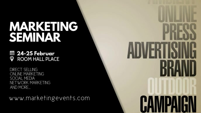 Marketing Seminar Workshop Congress Learning