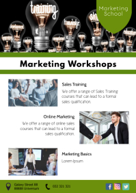 Marketing Workshops Seminar Sales Training Ad