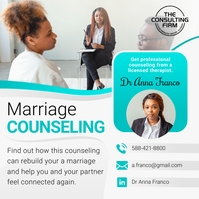 Marriage Counseling Instagram Image template