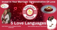 Marriage รูปภาพที่แบ่งปันบน Facebook template