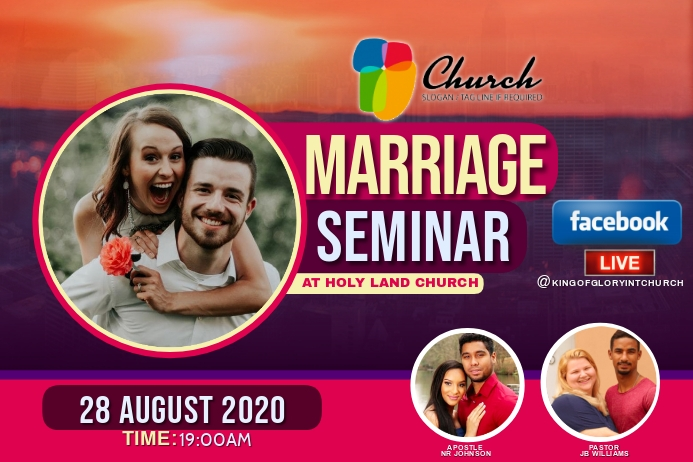 MARRIAGE FLYER Label template