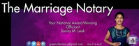 Marriage Officiant Website Header Tajuk Twitter template