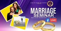 Marriage service Imagen Compartida en Facebook template