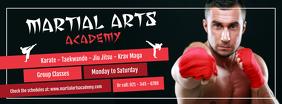 Martial Arts Academy Facebook Cover Photo