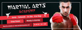 Martial Arts Academy Facebook Cover Photo