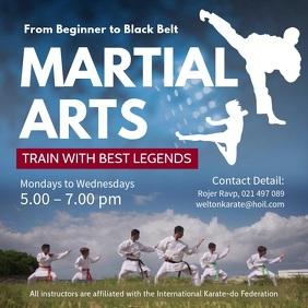 Customize Karate Poster Templates   PosterMyWall
