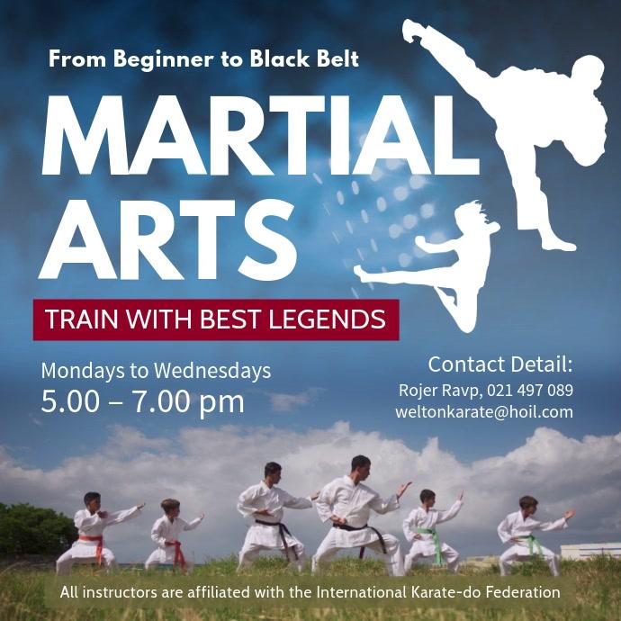 Martial Arts Classes Square Video