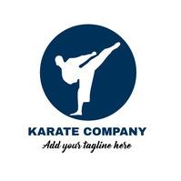 martial arts logo template
