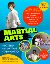 Martial Arts Flyer Pamflet (VSA Brief) template