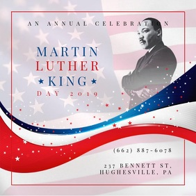 Martin Luther King Day Celebration Video Invite