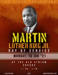 Martin Luther King Day Event . Flyer (US Letter) template
