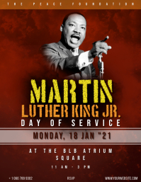 Martin Luther King Day Event Flyer (US Letter) template