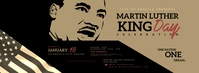 Martin Luther King Day Facebook Cover Photo template