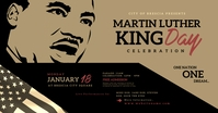 Martin Luther King Day Facebook Shared Image template