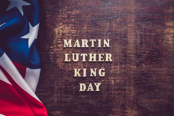 Martin Luther King Day printable poster Iphosta template