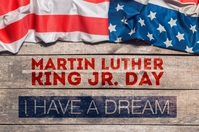 Martin Luther King Day printable poster template